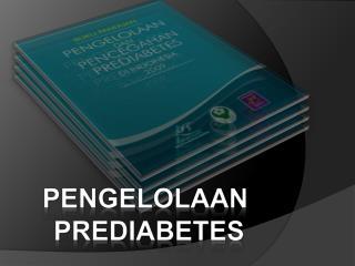 Pengelolaan prediabetes