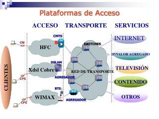 Plataformas de Acceso