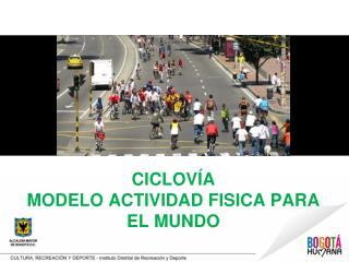 CICLOVÍA MODELO ACTIVIDAD FISICA PARA EL MUNDO