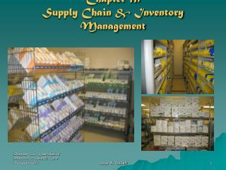 Chapter 11. Supply Chain & Inventory Management