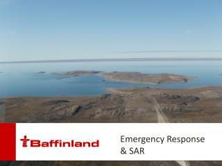 Emergency Response & SAR