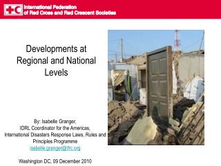 Developments at Regional and National Levels