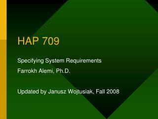 HAP 709