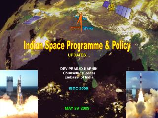 Indian Space Programme & Policy