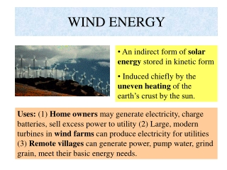 Wind Project Development 101
