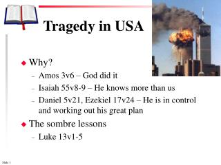 Tragedy in USA