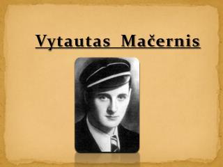 Vytautas  Macernis