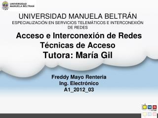 Freddy Mayo Renteria Ing. Electrónico   A1_2012_03