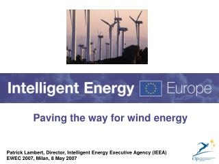 Paving the way for wind energy