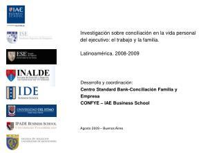Investigación sobre conciliación en la vida personal del ejecutivo: el trabajo y la familia.