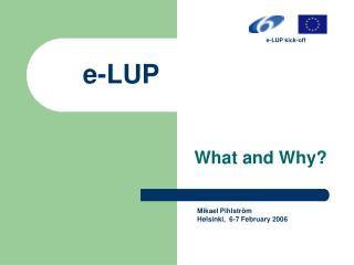 e-LUP
