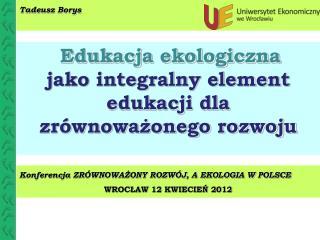 Tadeusz Borys