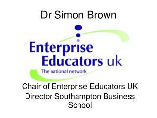 Dr Simon Brown