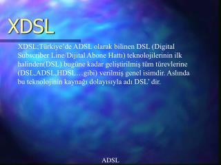 X DSL