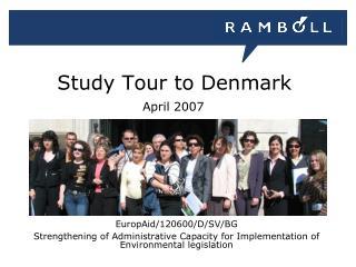Study Tour to Denmark