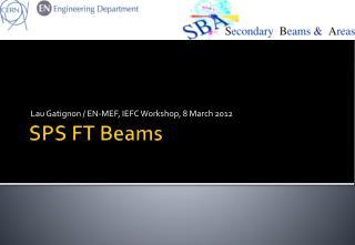SPS FT Beams