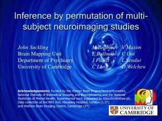 Inference by permutation of multi-subject neuroimaging studies