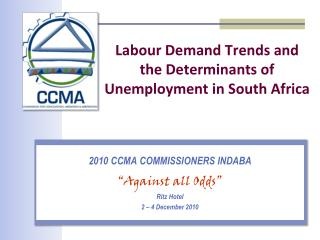 Labour Demand Trends and the Determinants of Unemployment in South Africa