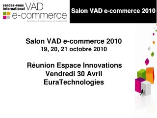 Salon VAD e-commerce 2010
