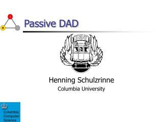 Passive DAD