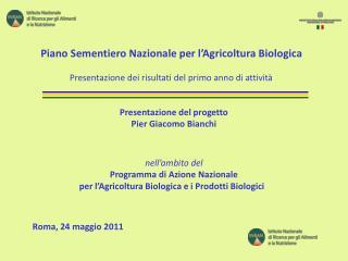 Roma, 24 maggio 2011