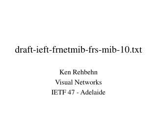 draft-ieft-frnetmib-frs-mib-10.txt