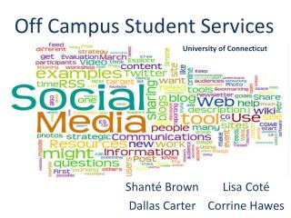 Off Campus Student Services