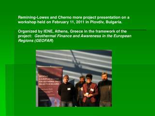 Presentation Plovdiv ENG