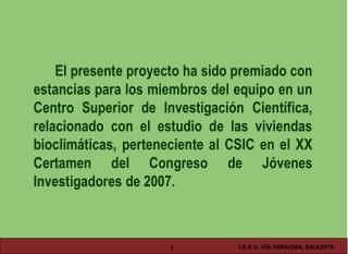 """XX CONGRESO """"JOVENES INVESTIGADORES"""" 2007"""