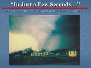 """In Just a Few Seconds…"""