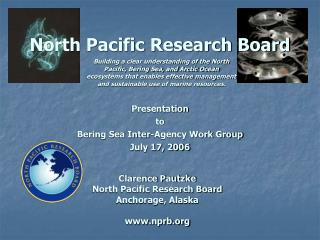 North Pacific Research Board