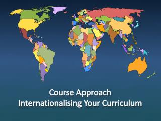 Course Approach Internationalising  Your Curriculum