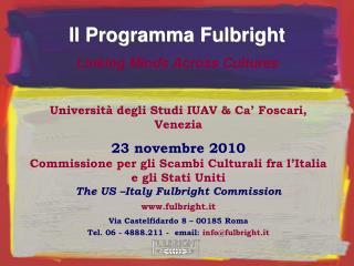Università degli Studi IUAV & Ca' Foscari, Venezia
