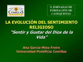 X JORNADAS DE FORMACIÓN DE CATEQUISTAS