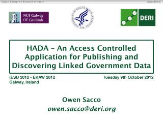 HADA – An Access Controlled Application for Publishing and Discovering Linked Government Data