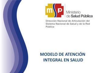 Dirección Nacional de Articulación del Sistema Nacional de Salud y de la Red Pública