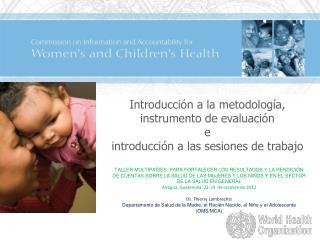 Introducción  a la  metodología ,  instrumento  de  evaluación e