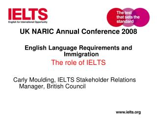 UK NARIC Annual Conference 2008