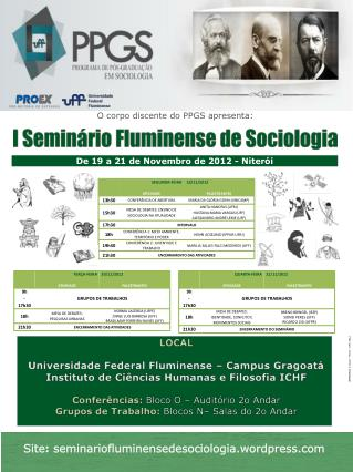 Site : seminariofluminensedesociologia .wordpress