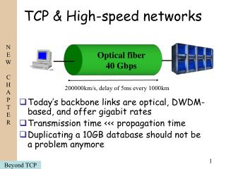 TCP & High-speed networks