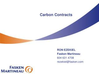Carbon Contracts