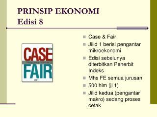 PRINSIP EKONOMI Edisi 8