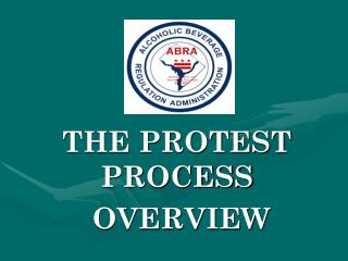 THE PROTEST PROCESS  OVERVIEW