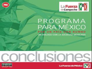 PROGRAMA PARA MÉXICO