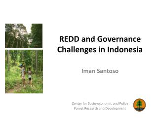 REDD and Governance Challenges in Indonesia