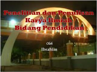 Oleh Ibrahim