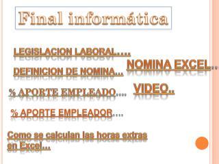 Final informática