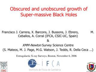 Obscured and unobscured growth of Super-massive Black Holes