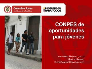 CONPES de oportunidades para jóvenes