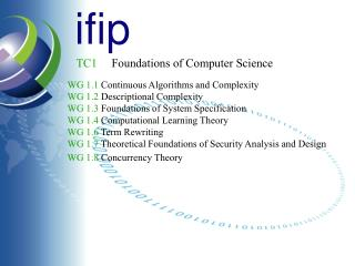 TC1 Foundations of Computer Science